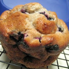 Blueberry and Banana Muffins (Light)
