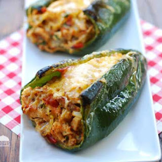 Healthy Stuffed Poblano Peppers Recipes