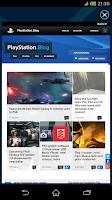 Screenshot of PlayStation®App