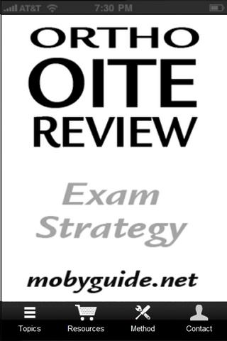 OITE Ortho Strategy