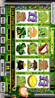 Screenshot of Leprecoin Slot Machine