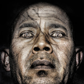 my Ugly Face ... (Halloween) by Masagus B Sutrisno ~ - People Body Art/Tattoos