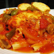Tia's Crock Pot Spicy Chicken Cacciatore