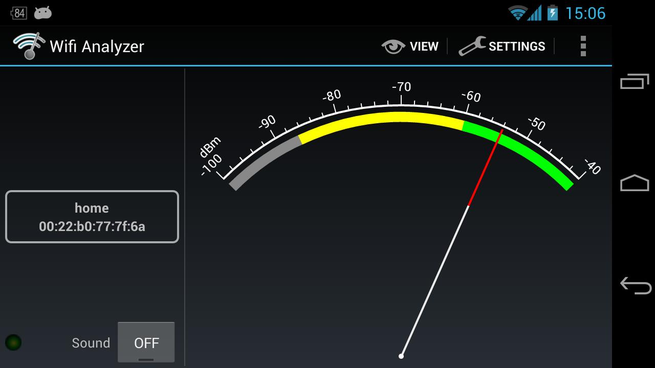 Wifi Analyzer Screenshot 6