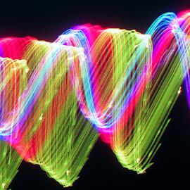 Gamma ray ! by Jim Barton - Abstract Patterns ( ray, laser light, colorful, light design, laser design, laser, gamma ray, light, science )