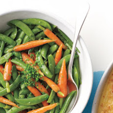 Buttered Snap Peas and Carrots