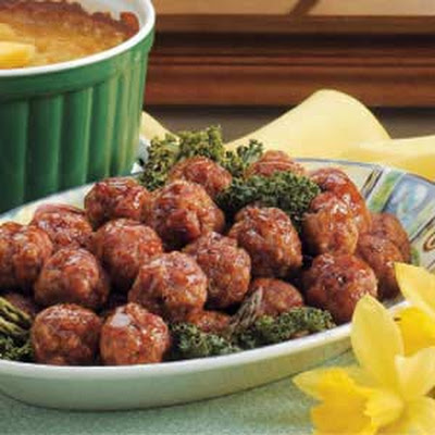 Brown Sugar Glazed Ham Balls