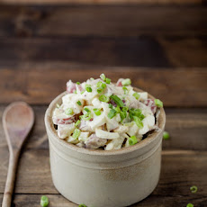 Warm Mustard Potato Salad (No Mayo!)