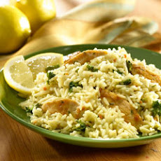 Lemon Pepper Chicken & Rice