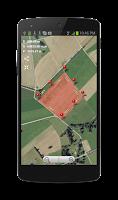 Screenshot of Planimeter - GPS area measure