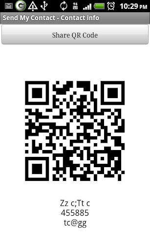 Send My Contact