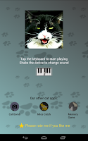 Screenshot of Cat Piano