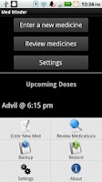 Screenshot of Med Minder - Pill Reminder