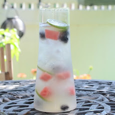 Watermelon and Blackberry Sangria