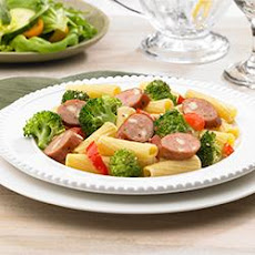 Johnsonville® Smoked Chicken Italian Sausage and Broccoli Rigatoni
