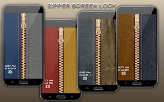 Screenshot of Zip Screen Lock