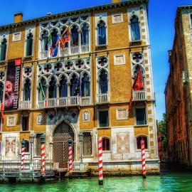 Venice by Andrea Conti - City,  Street & Park  Historic Districts ( venezia, venice, buildings, cityscape, palace, italy, canal, historic, city )