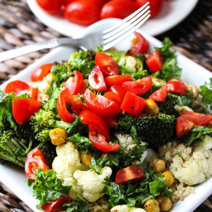 Italian Vegetable Quinoa Bowls Recipes — Dishmaps