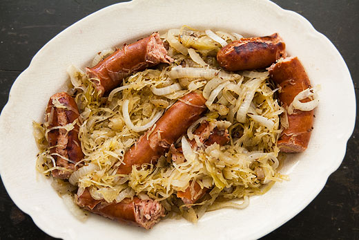 Grilled Polish Sausage