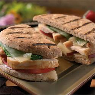 Chicken and Apple Panini