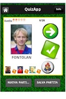 Screenshot of QuizApp stickers footballers