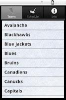 Screenshot of Hockey Radio