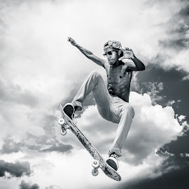 Fly High by Jim Harmer - Sports & Fitness Skateboarding