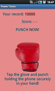 Power Test - punching strength - screenshot
