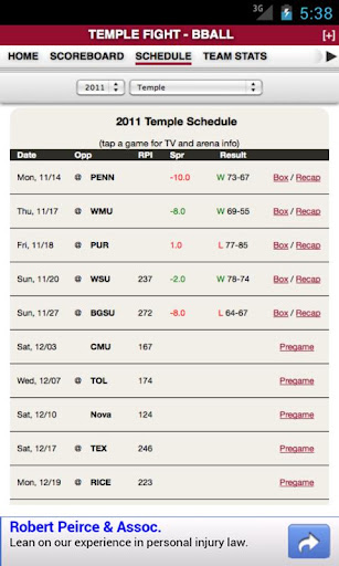 【免費運動App】Temple Football & Basketball-APP點子