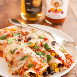 Pork Black Bean Enchiladas Recipes