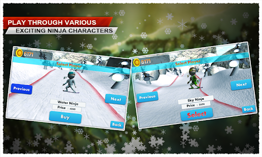Ski Ninja - screenshot