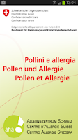 Screenshot of Pollen-News