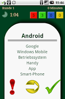 Screenshot of Tabu!Droid Demo