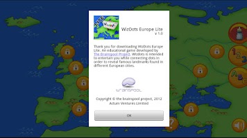 Screenshot of WizDots Europe Lite