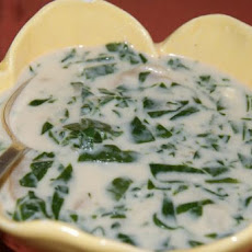 Fresh Spinach Soup