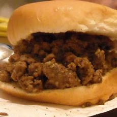Loose Meat on a Bun, Restaurant Style