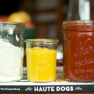 Homemade Ketchup, Mayonnaise, and Mustard from Haute Dogs
