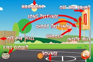 Screenshot of Basketball Trick Shots PRO