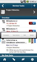 Screenshot of WAToDo! LITE Android ToDoList