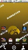 Screenshot of Iowa Hawkeyes Live Wallpaper