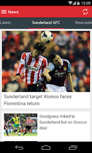 Football Echo App - screenshot
