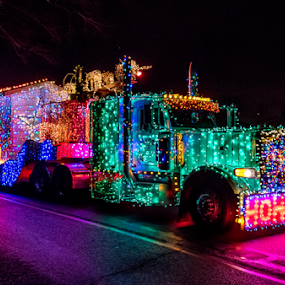 by Darren Sutherland - Public Holidays Christmas ( truck parade )