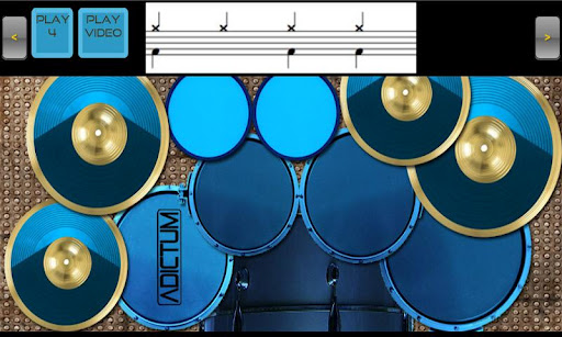 Adictum Drum Lessons Kit