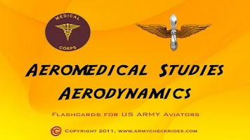 Screenshot of Aeromed Flashcard Study Guide