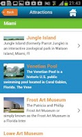 Screenshot of Miami Guide, Map & Hotels