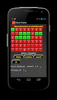 Screenshot of Morse Trainer for Ham Radio