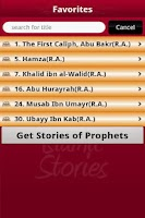 Screenshot of Stories of Sahabas in Islam
