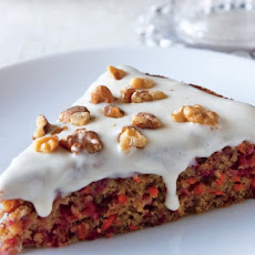 Cranberry-Carrot Cake