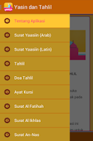 Screenshot of Yasin dan Tahlil