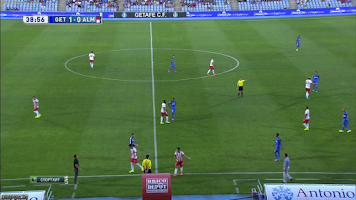 Screenshot of Sopcast Fútbol HD RojaDirecta